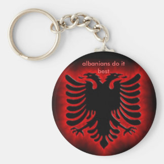 o albanianeagle, albanêses fá-lo melhor chaveiro