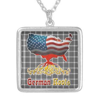 O alemão americano enraíza a colar