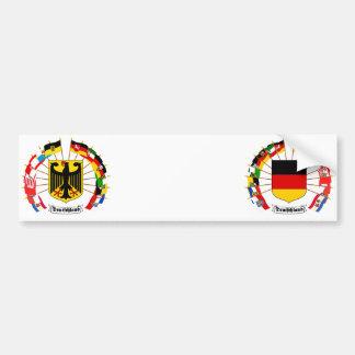 O alemão embandeira o Pinwheel Adesivos