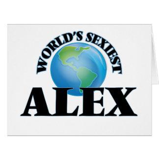 """O Alex o mais """"sexy"""" do mundo Cartoes"""