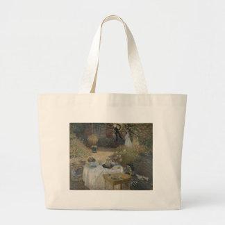 O almoço (1873) bolsas para compras