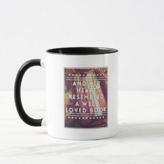 O amante de livro caneca cerâmica combinado de 11