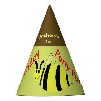 O amarelo Bumble chapéus personalizados abelha do