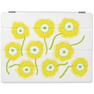O amarelo floresce a capa de ipad pela gema Orte