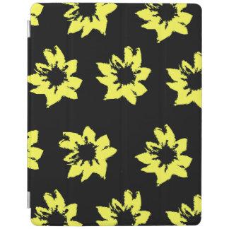O amarelo floresce o cobrir esperto do iPad Capa Smart Para iPad