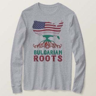 O americano búlgaro enraíza a camiseta