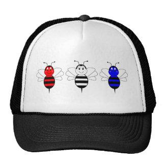 O americano Bumble o chapéu das abelhas Boné