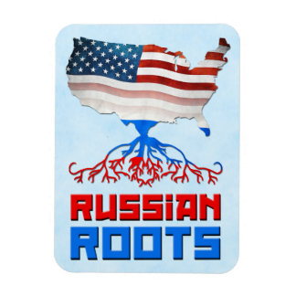 O americano do russo enraíza o ímã de Flexi