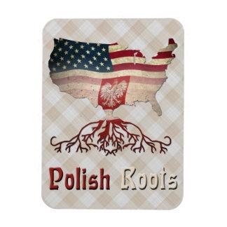 O americano polonês enraíza ímãs de Flexi