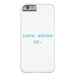 O amor aparece a capa de telefone