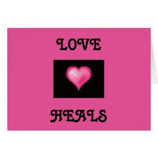 O amor cura o cartão