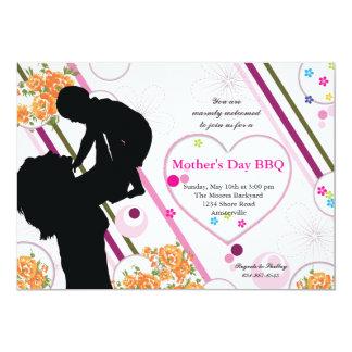 O amor de mãe - convite do dia das mães