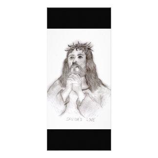 O amor do salvador 10.16 x 22.86cm panfleto