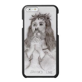 O amor do salvador capa carteira incipio watson™ para iPhone 6