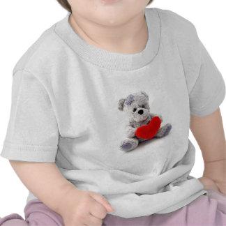 O amor do ursinho caçoa o T T-shirts
