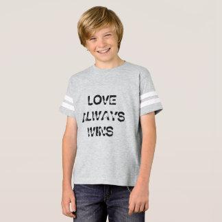 O amor dos miúdos ganha sempre a camisa