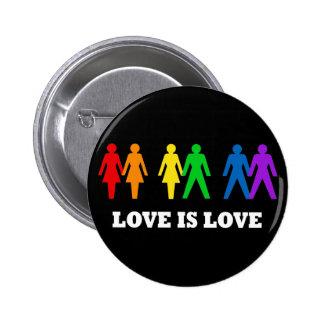 O amor é amor botons