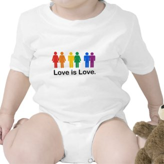 O amor é amor camisetas