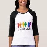 O amor é amor t-shirt