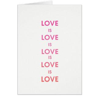 """O """"amor é cartão do amor"""""""