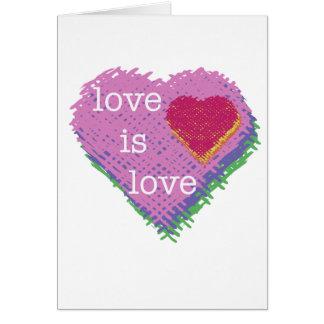 O amor é cartão do amor