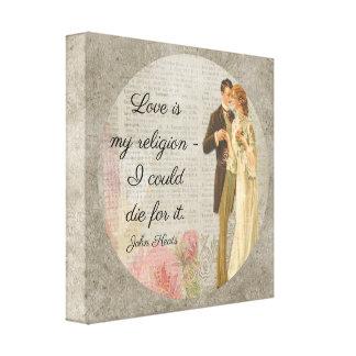 O amor é meus _Keats da religião - arte das canvas
