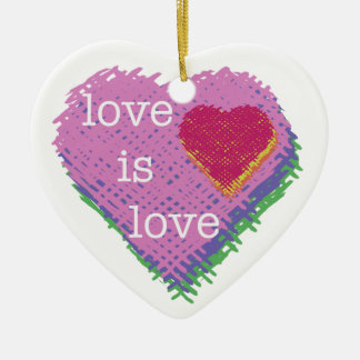 O amor é ornamento do feriado do coração do amor