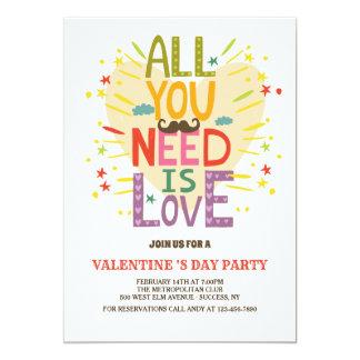 O amor é tudo que você precisa o convite
