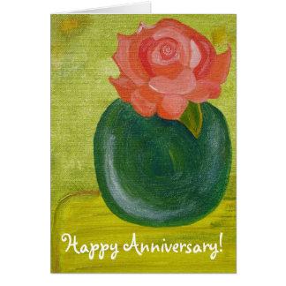 O amor é um cartão do aniversário do esposo da dec