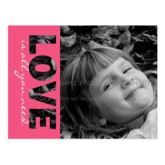 O amor feito sob encomenda do cartão | da foto do