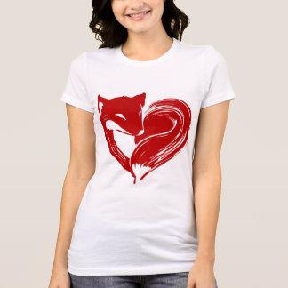 O amor Foxes a camisa