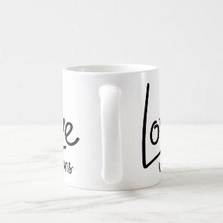O amor ganha a caneca de café
