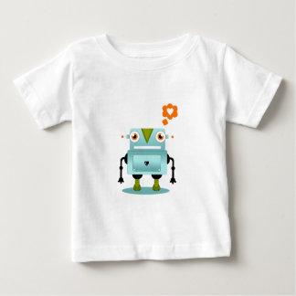 O amor lunático e artístico do robô caçoa a camisa