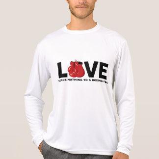 O amor não significa nada a um fã de tshirt