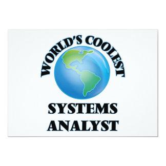 O analista de sistemas o mais fresco do mundo convite personalizados