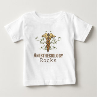 O Anesthesiology balança a camisa do bebê T