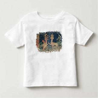 O animal do mar com sete cabeças camiseta infantil