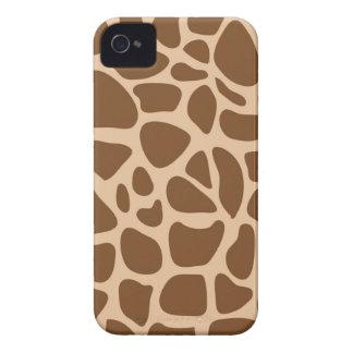 O animal selvagem do impressão do girafa modela capinhas iPhone 4