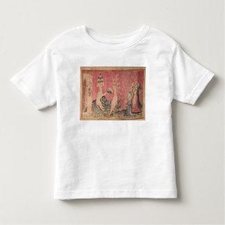 O animal sete-dirigido do mar t-shirt