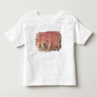 O animal sete-dirigido do mar camiseta infantil