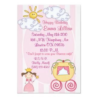 o aniversário, convida, princesa, rosa, roxo, convites