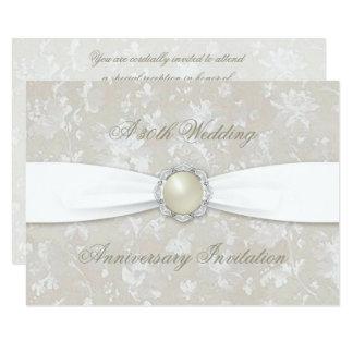 O aniversário de casamento corajoso 4.5x6.25 do convite 11.30 x 15.87cm