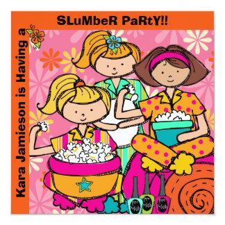 O aniversário do partido de descanso personalizado convites
