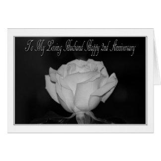 ò Aniversário para o cartão do marido