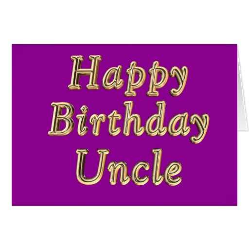 O Aniversário Tio Aniversário do feliz aniversario Cartao