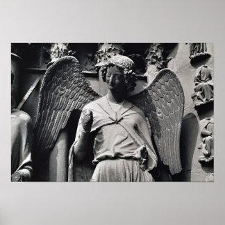 O anjo com um sorriso poster