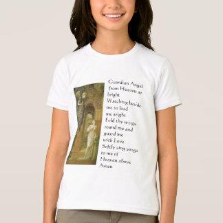 O anjo-da-guarda caçoa a camisa tshirt