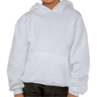 O anjo-da-guarda caçoa o hoodie moleton com capuz