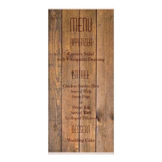 O anjo rústico do estilo country voa o casamento 10.16 x 22.86cm panfleto
