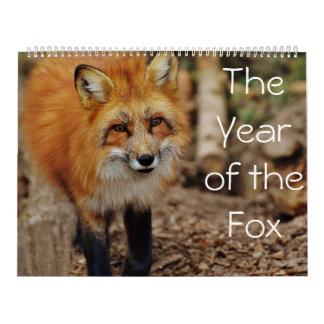 O ano do calendário do Fox